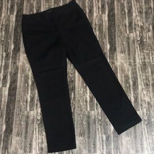 WHBM perfect form 8R black dress pants